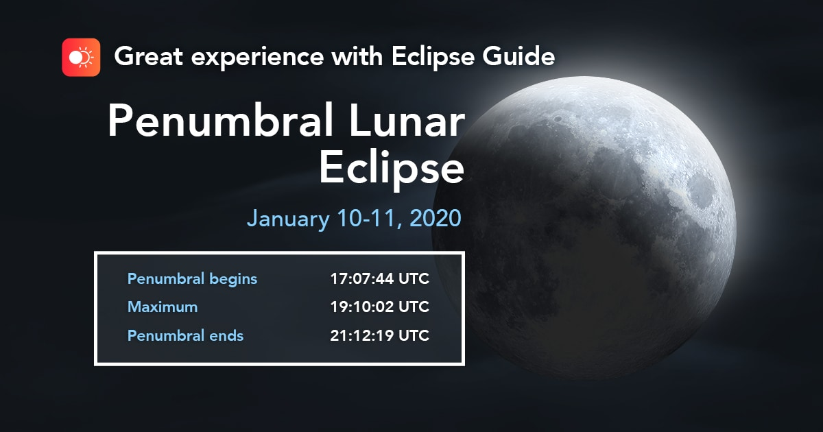 Eclipse Guide - гид по затмениям для iOS и Android